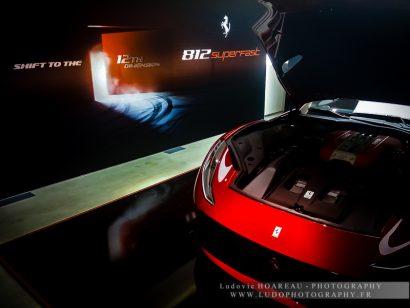 Présentation - Private View - Ferrari 812 SuperFast Copyright / Tous droits réservés : Ludovic HOAREAU