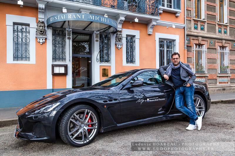 Le Chef Michel Sarran Amp Maserati Ludophotography